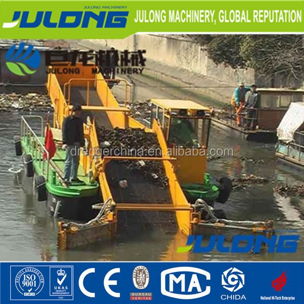 Weed Harvester Ship/Water Hyacinth Harvester/Weed Cutting Machine/Lake weed harvester/Garbage Salvage Ship/ dredgers for sale