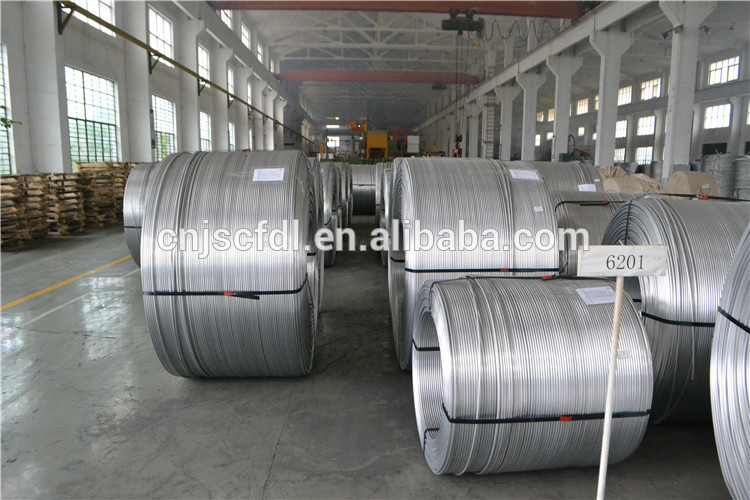 99.97% High Purity Aluminum Alloy Wire 6201 Welding Rod