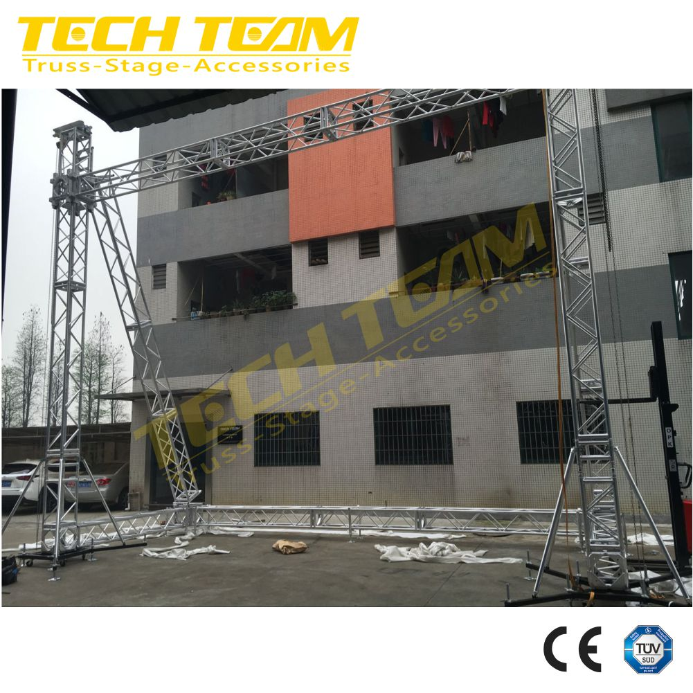 7.5m*10m LED Lighting Truss System easy to assemble!