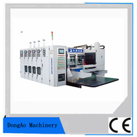 Corrugated carton manufacturing machine HQM NC-Auto Rotary Die-Cutting machine