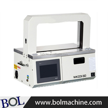 Automatic banknote strapping machine OPP tape banding machine
