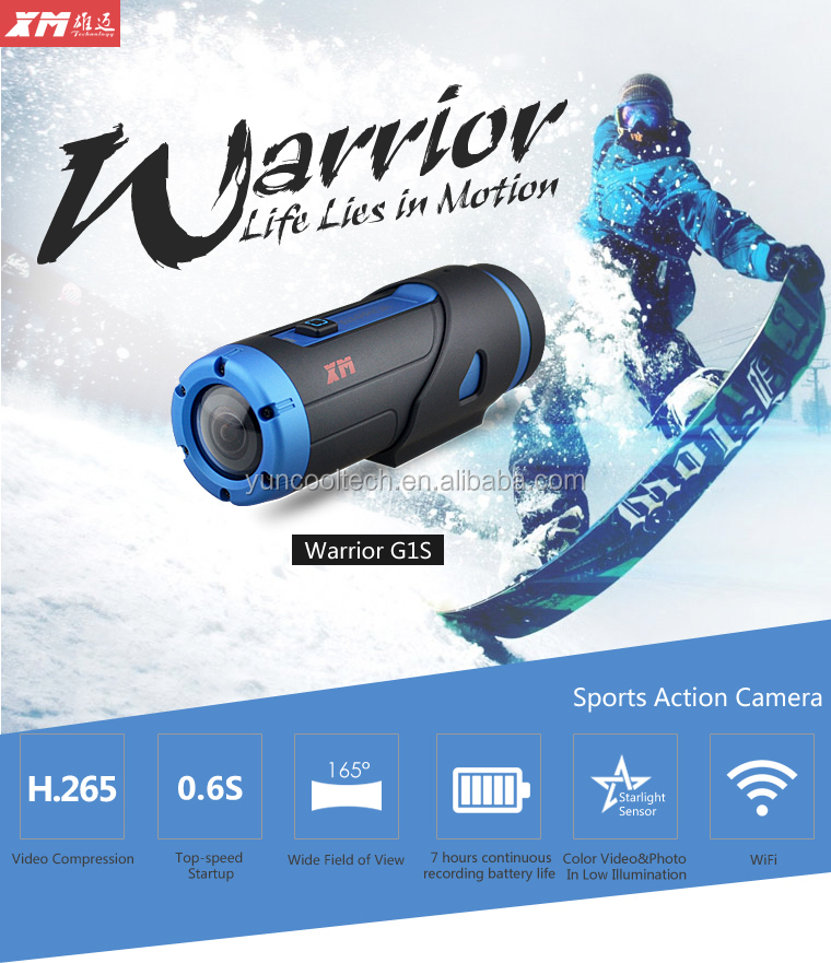 165 degree wide angle hd sports action camera waterproof ourdoor bike camera