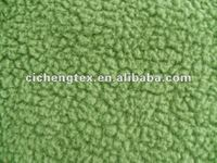 100%Polyester cheap soft faux sherpa polar fleece winter warm clothes fake sherpa fleece fabric