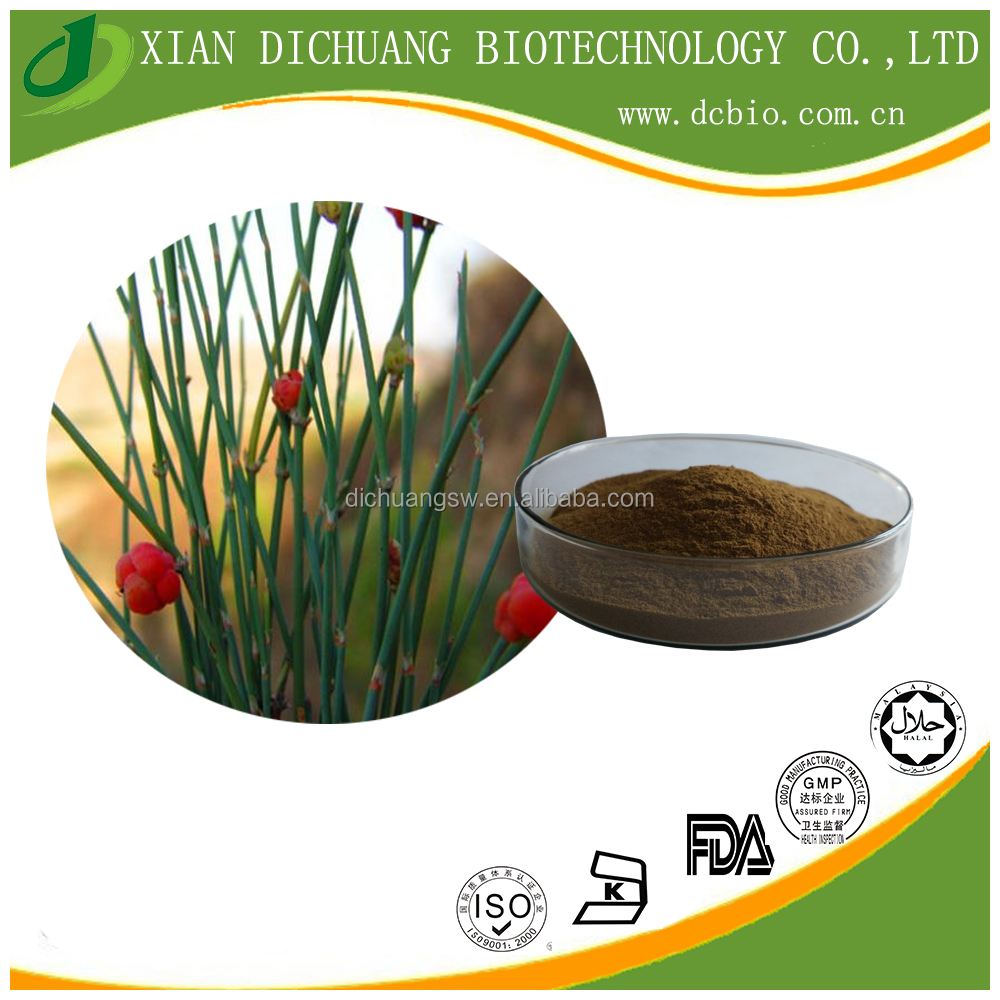 Herbal Ephedra Vulgaris Extract 20:1 /Leaf Part Ephedra Extract Powder