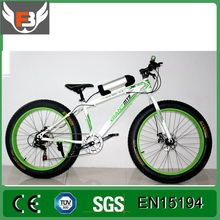 Hot selling Factory Cheapest Fat Tire Beach Electric Snow Bike with 21 speed gear