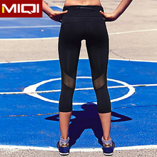 Fashion design wicking SUPPLEX women sports wear running tights yoga capris