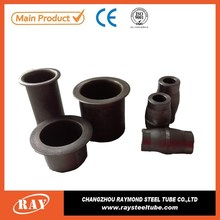 Seamless carbon steel pipe fitting dimensions