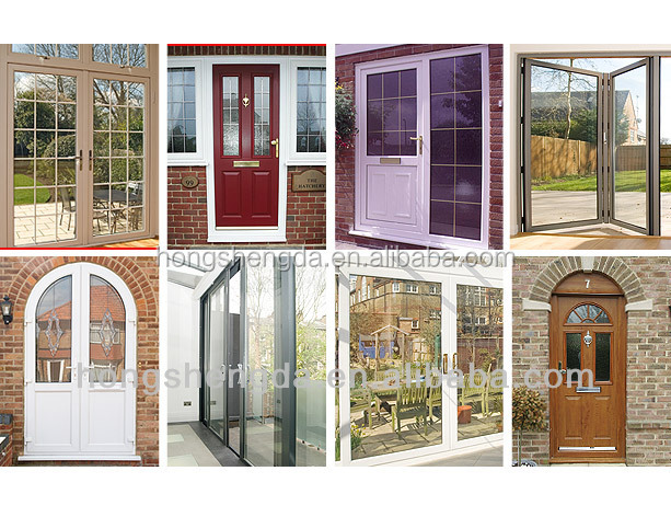 Custom-made new plastic steel/titanium alloy doors and Windows