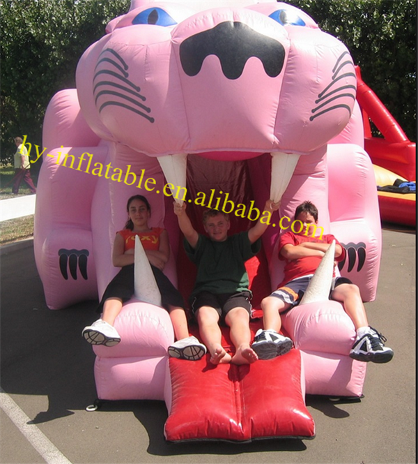 inflatable pink panther bounce houses for sale inflatable bounce round