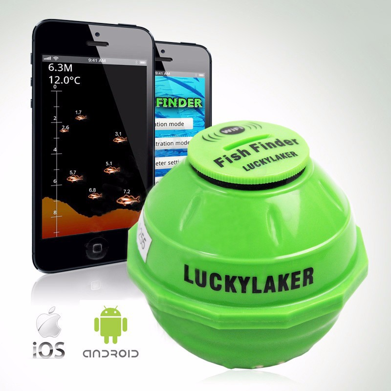 LUCKY WIFI Wireless Portable Mini Fishing Hunter Smart Fish finder For IOS Iphone Android