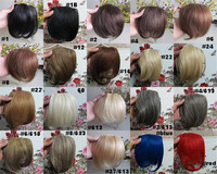 "Wholesale New 8"" Human Hair Extensions Clips Bangs Front Fringes 20g/pc"