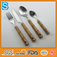 stainless steel personal fork and spoon