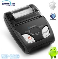Portable mobile ios bluetooth thermal mini 58mm receipt printer WSP-R240