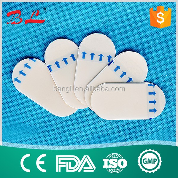 Chinese manufacturer waterproof medical plaster tape /hydrocolloid plaster/lighter medical plaster