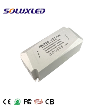 48W 600mA Single Output Type led driver led panel driver led power supply with case