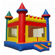 Inflatable jumping bouncer game