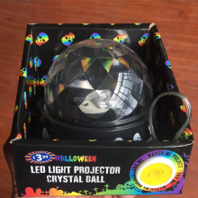 Halloween USB or battery power LED light projector crystal ball