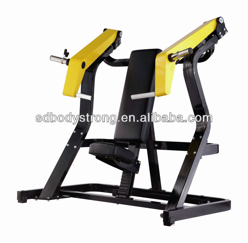 Body Strong Training Fitness Machines/PRO-002 Incline Chest Press