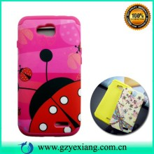 Cute design phone cover for lg l90 combo case