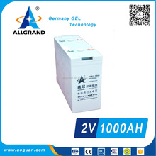 lead acid best price gel off-grid 2v/agm batteries 2v 1000ah