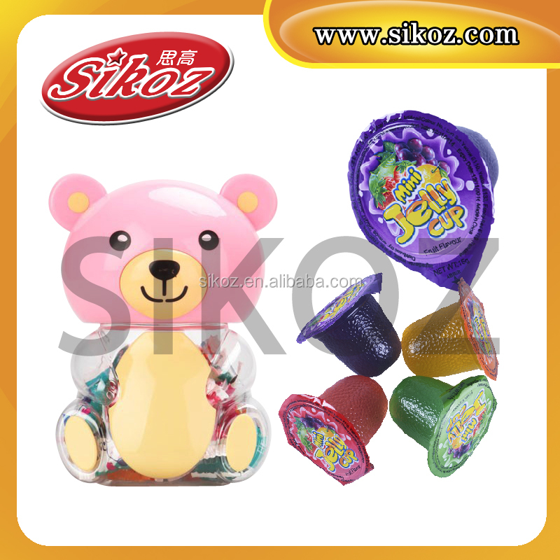 SK-V086 Fruit Jelly in Bear Shape Jar