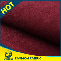 China supplier Small MOQ Elegant microfiber suede fabric for shoes fabric