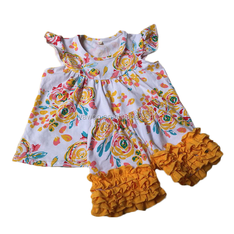 Yawoo kids clothes manufacturer import baby clothes european children's clothes sets