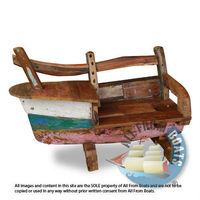 Reclaimed, Recycled Boatwood Sofa