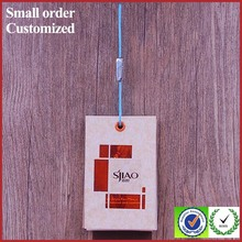 High quality custom made paper key hang tags and labels with cheap price