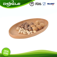Custom Design BSCI Approved Factory Direct Price Oval Serving Tray