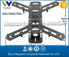Carbon fiber RC helicopter parts