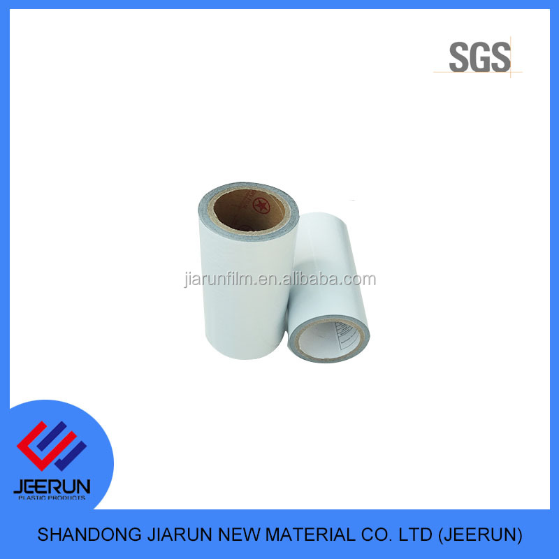 abs plastic sheet milky white protection film