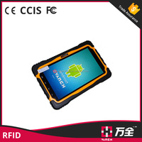 Android waterproof mobile phone with barcode scanner, NFC/RFID reader for file tracking