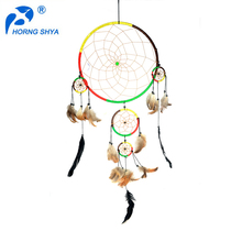 Wholesale Handmade Indian Feather Dream catcher