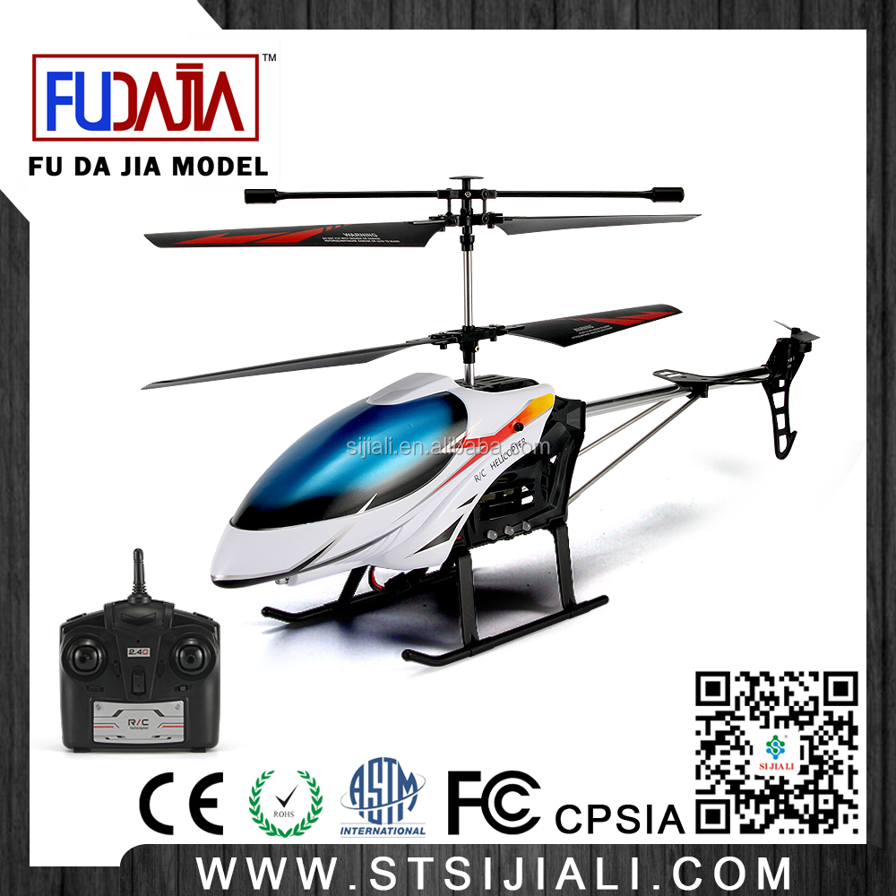 2016 Best seller 3.5 channel infrared flexible blades RC helicopter with lights