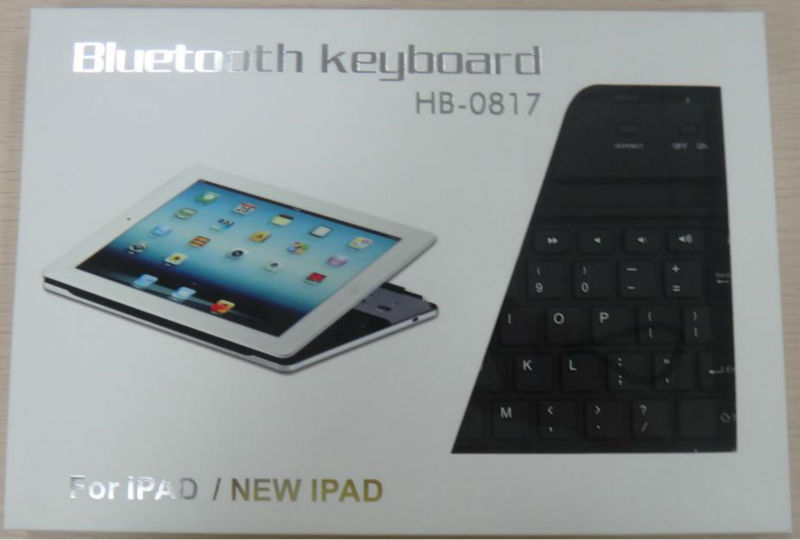 New Arrival!ergonomic magnetic keyboard for ipad 2 with bluetooth 3.0