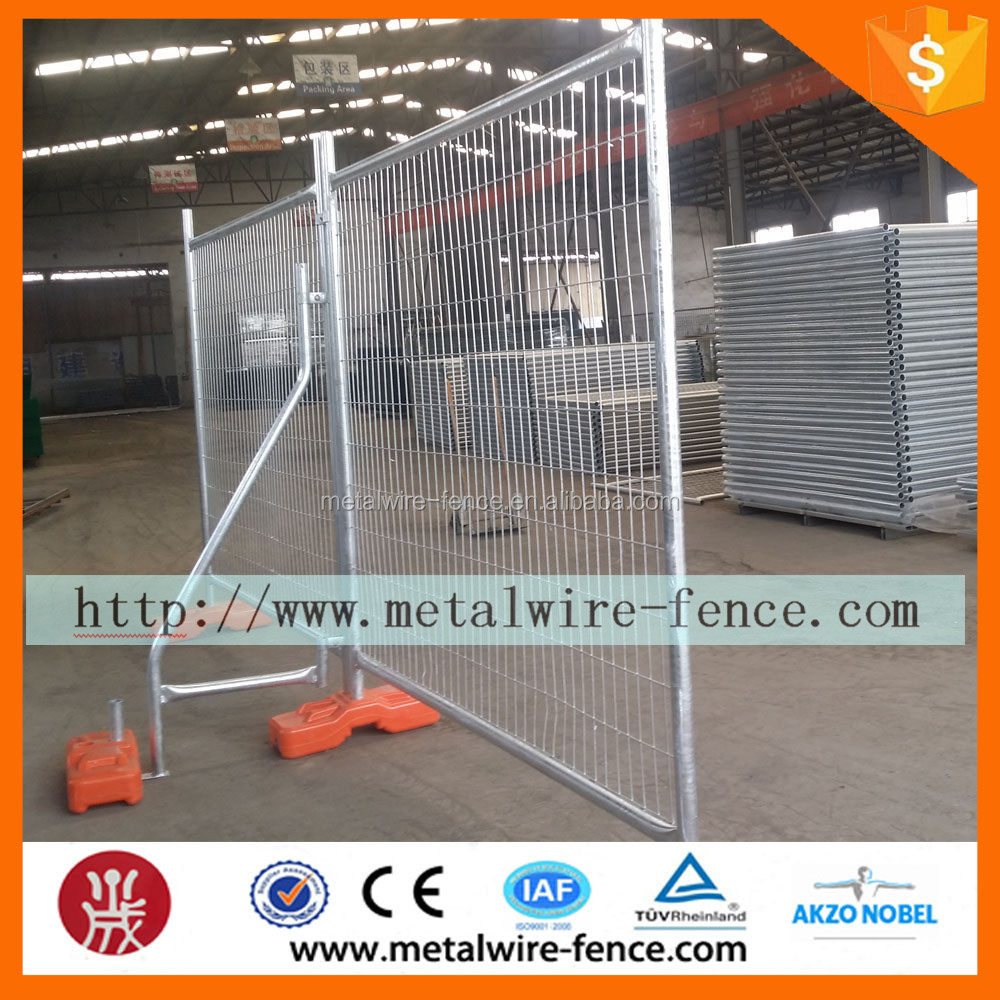 QY hot sale construction site temporary fening / temporary fence factory / galvanized temppray fence