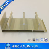 Aluminum hollow profiles sliding window frame Nigeria powder coating blue