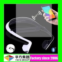 Newest Hot!!! multi-point connection waterproof bluetooth wireless super mini earphone plug headset