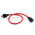 S30555 30AMP Generator extension cord 4P SJTW AWG10/4