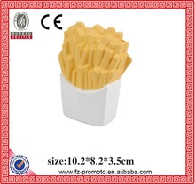 Promotional PU Stress Ball PU French Fries Toy for Kids