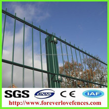 Made In China ornamental double loop wire fence, double wire fence, fencing