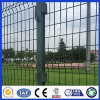 DM pe coated iron wire welded mesh fence panels from Anpng Factory with ISO 9001/2008