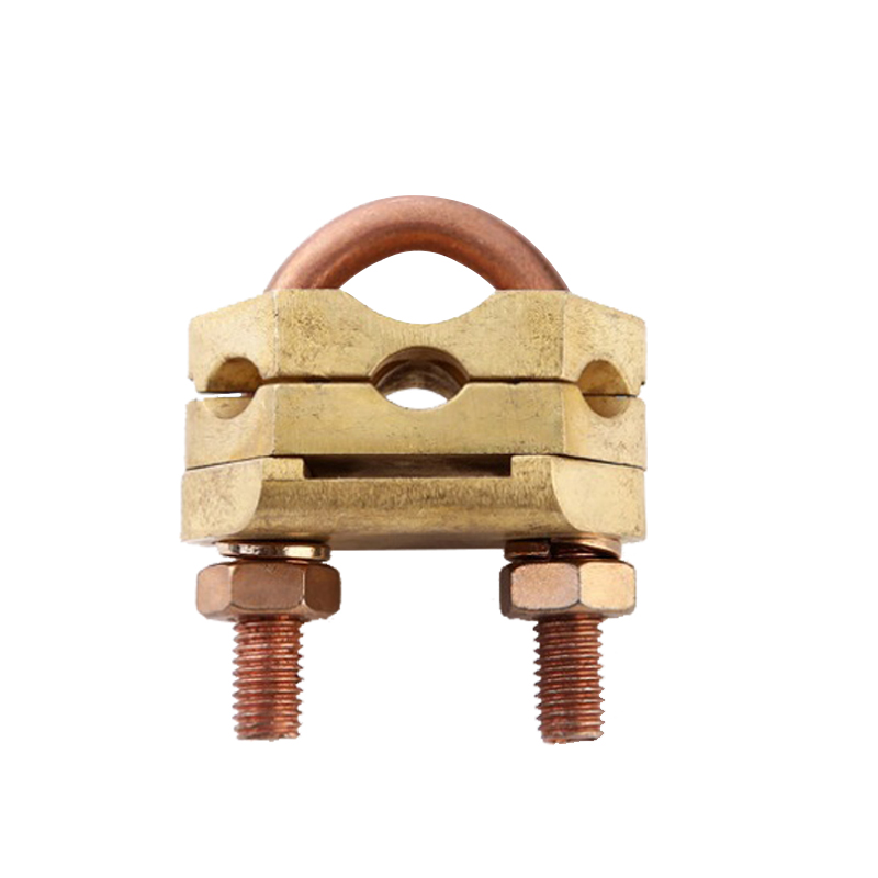Ground Accessories Brass U Bolt Clamp for Ground Rod