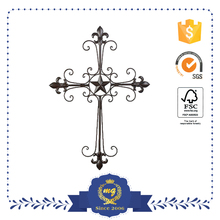 Metal Crafts Cross Wrought Iron Wall Decor