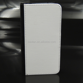 customer DIY stand sublimation leather phone case for galaxy S4