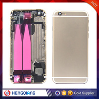 OEM Customized rear cover assembly back housing for iphone 6