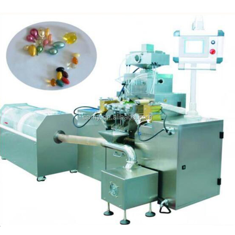 KNSY-5 Soft Gel Gelatin Capsule Soft gel Encapsulation Paintball Making Pharmaceutical Filling Packing Machine