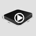 2017 Wholesale Cheap Android 6.0 S905X Smart Hotel Television Box TX3 PRO TV Box