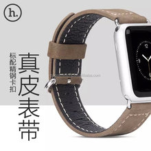 2016 Luxury series real leather watch band for Apple watch